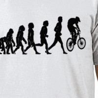 Downhill evolution T-shirt