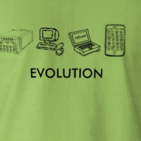 Evolution......computer style T-shirt