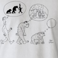 Evolution/Creationism T-shirt