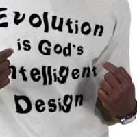Evolution is God's Intelligent Design T-shirt