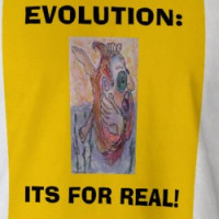 EVOLUTION:, ITS FOR REAL! T-shirt