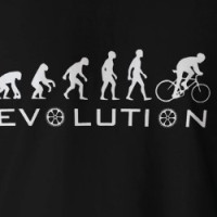 Evolution Of Bike (Dark) T-Shirt T-shirt