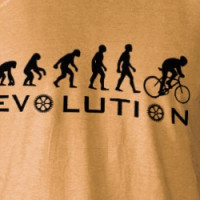 Evolution Of Bike T-Shirt T-shirt