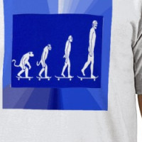 EVOLUTION OF SKATEBOARDING T-shirt