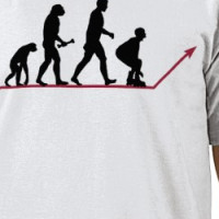 Evolution of Skaters T-shirt
