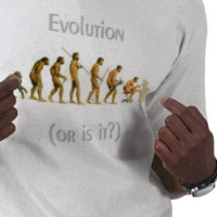 evolution ... or is it? T-shirt