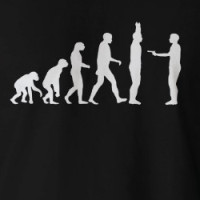 Evolution to De-evolution T-shirt