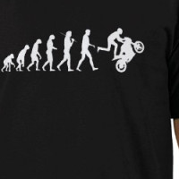 Evolution - Wheelie B T-shirt