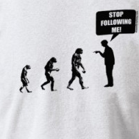 Funny Evolution of Man Shirts T-shirt