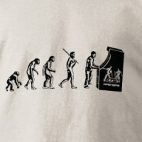 Gamer Evolution - Game Video Games Arcade Geek T-shirt