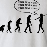 Human Evolution - Customize It! T-shirt