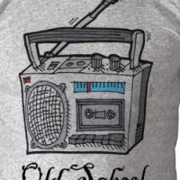 Old/ New School Boombox T-shirt