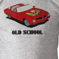 Old School vs New School Cars T-shirt
