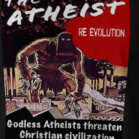 RE-EVOLUTION atheist T-shirt