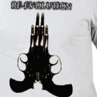RE-EVOLUTION big gun T-shirt