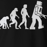 Robot Evolution T-Shirt T-shirt