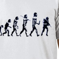 Sad Sad Evolution of Man T-shirt