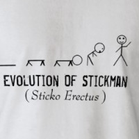 Stickman Evolution T-shirt
