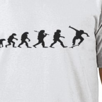 The Evolution is Complete. T-shirt