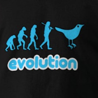 Twitter evolution T-shirt